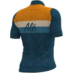 Alé Cycling Classic Storica SS Jersey Men petroleum/orange